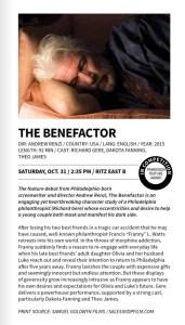 PFF The Benefactor