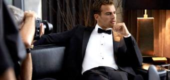 Theo James' Hugo Boss Holiday Campaign Will Have You Hunting Down the Mistletoe