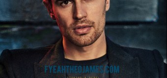 Scans: Theo James On The Cover of 'Essential Homme'