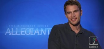 Theo James Interview with BlackTree TV via Satellite for Allegiant