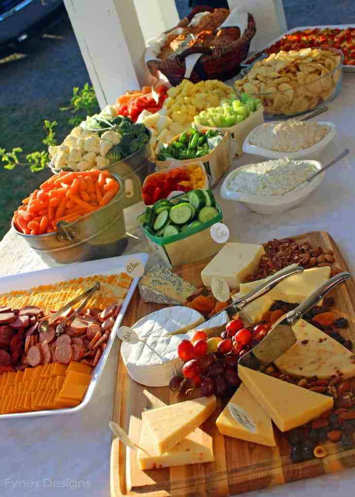Wedding Catering In The Country - FYNES DESIGNS