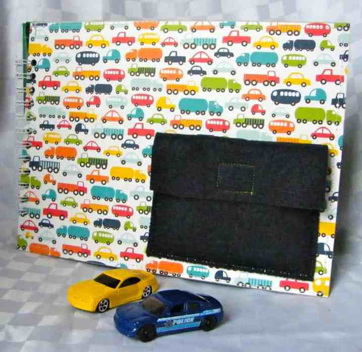 Busy Book with a dinky car garage. Would make an awesome #Christmas travel gift!