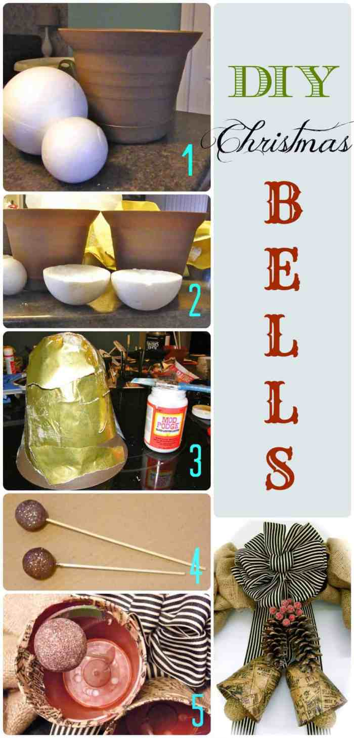 Can you believe these bells are made with plant pots!