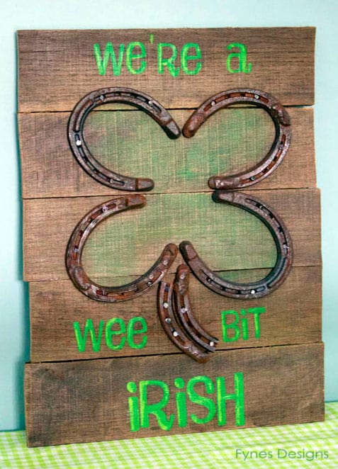 A Wee St. Pat's Pallet Sign