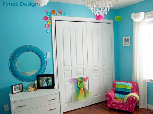 sweet little girl s bedroom reveal from the fynes house 15191 | bed view fynes designs resize 620 2c461
