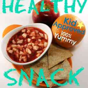 Healthy kids snack