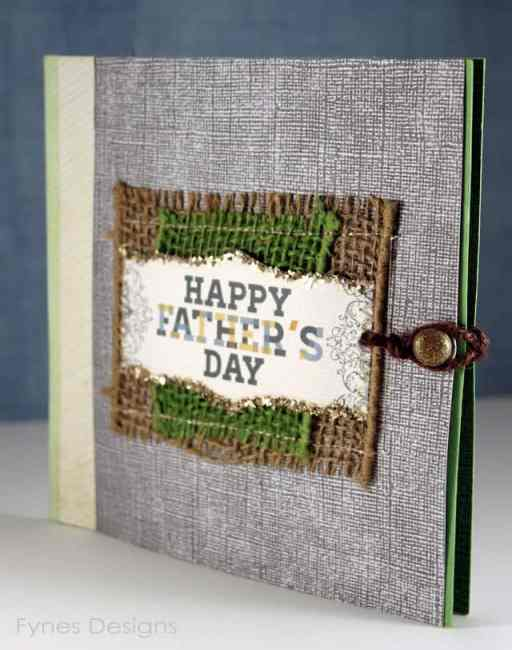 This unique card holds 6 gift cards for Father's Day that he can use to do stuff with the kiddos when Mom is busy! Ice cream shop, movies, bowling, fast food, itunes, zoo etc.