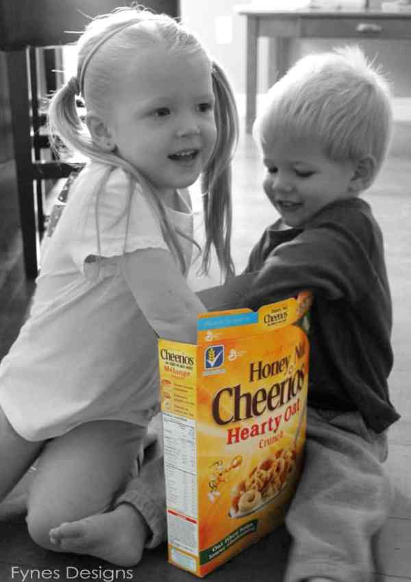 A Classic Revived- Just like New Cheerios