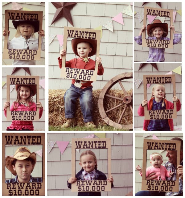 Saddle Up for a Backyard Western Theme Birthday Party