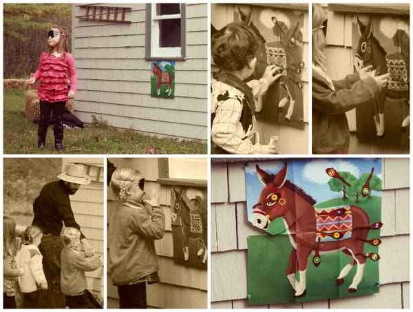 Pin the tail on the donkey- classic party game