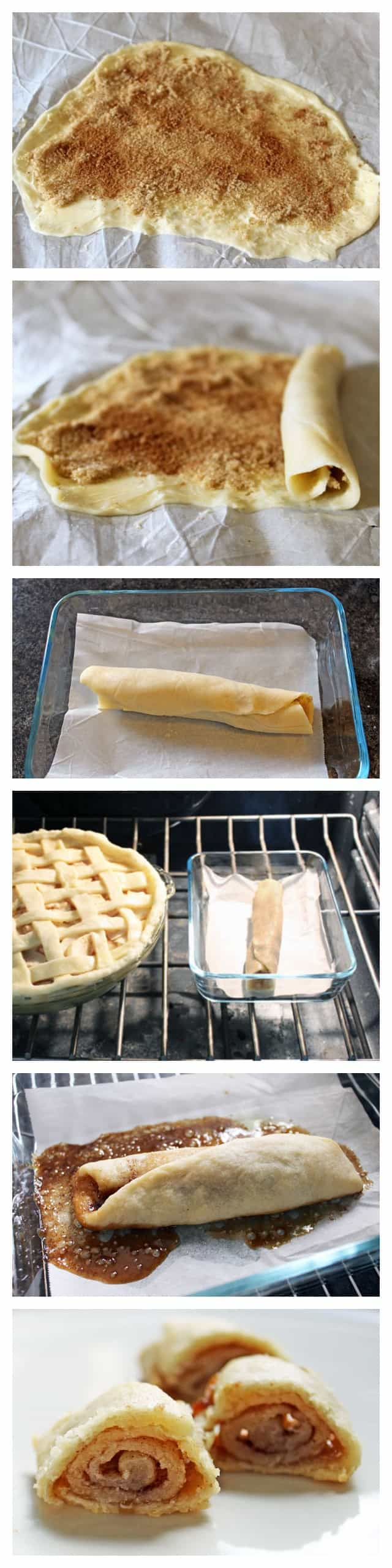 How to use up leftover pastry scraps. The most delicious morsel of pastry ever!