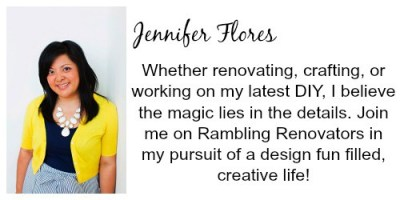 Jennifer Flores bio | Craft Gifts by popular Canada lifestyle blog, Fynes Designs: image of Jennifer Flores.