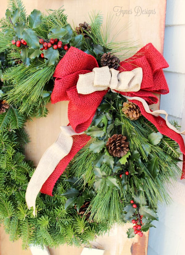 The Great Canadian Wreath Hop- JOY Outdoor Wreath Sign - FYNES ...