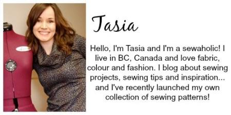 sewaholic-bio | Craft Gifts by popular Canada lifestyle blog, Fynes Designs: image of Tasia of Sewaholic.