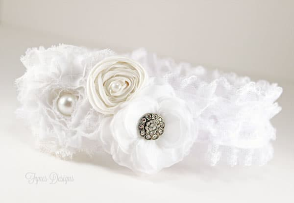 Ribbonista Engagement Hop- A DIY Wedding Garter Card