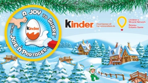 Kinder a Joy to Share program