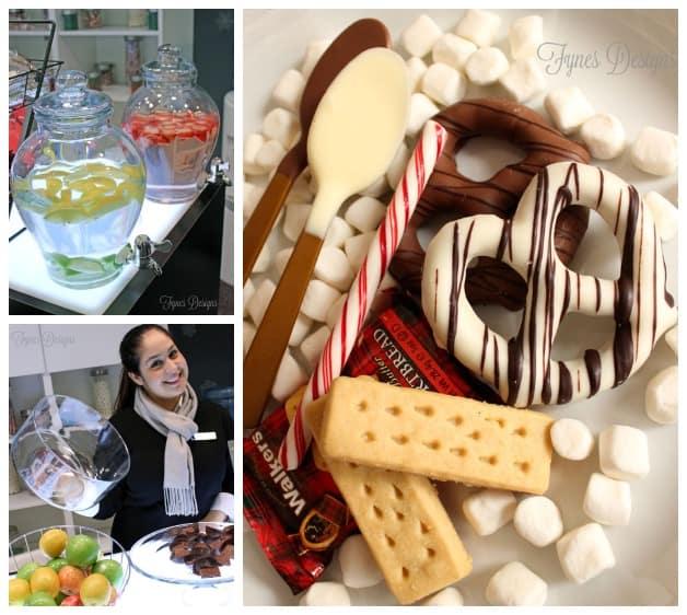 Snacks at the RBC #AvionVIP lounge