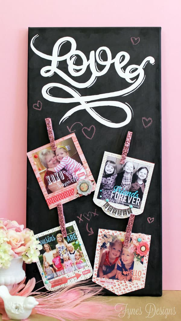 Love Instagram photo canvas via fynesdesigns.com