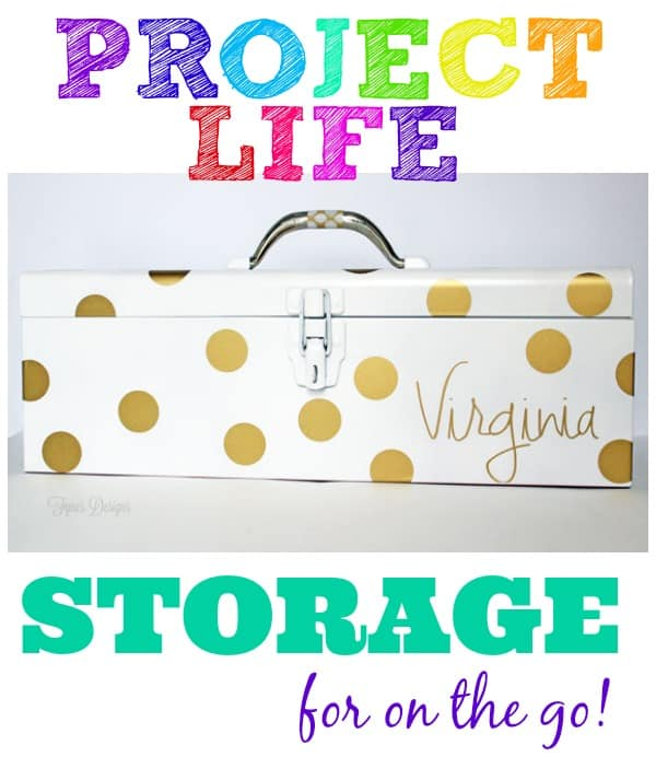 Project life organization idea- perfect for crops