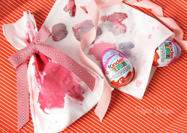 Kids Craft- Valentine's Day Painted Treat Bags