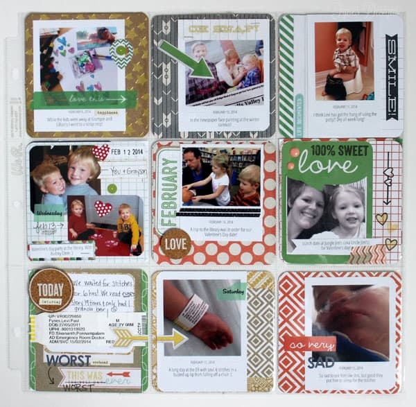PL layout with WRMK 4x4 pocket pages