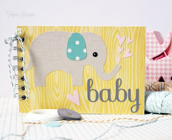 Baby Shower Idea- Baby Wishes Album #Xyron