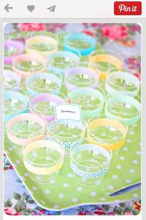 craft and creativity plastic cups