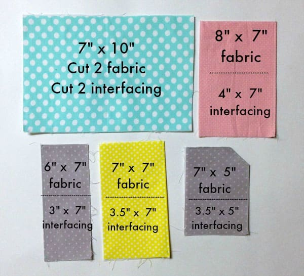 sewing pattern for a passport pouch
