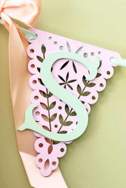 Easy Wood Veneer Spring Banner
