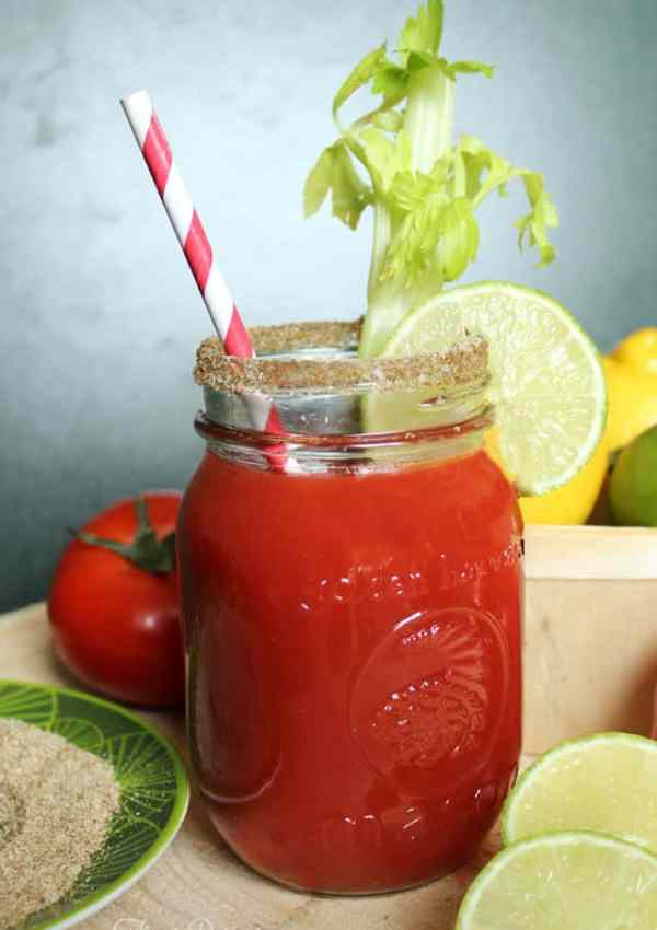 The most delicious Caesar drink recipe