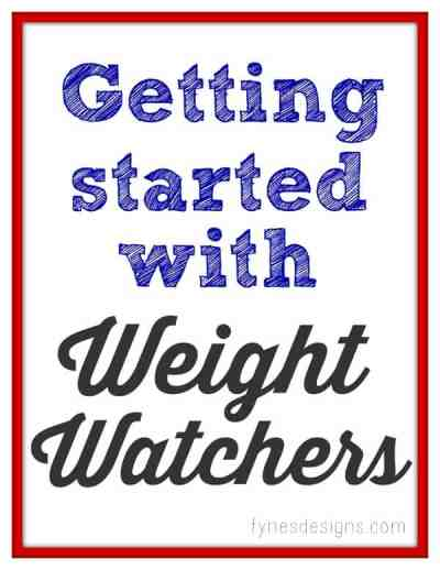 Great tips and tricks for getting through the first few weeks of Weight Watchers featured by top US life and style blog, Fynes Designs