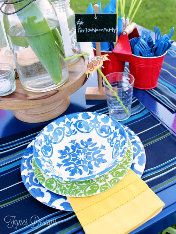 Fun patio party entertaining #Pier1OutdoorParty