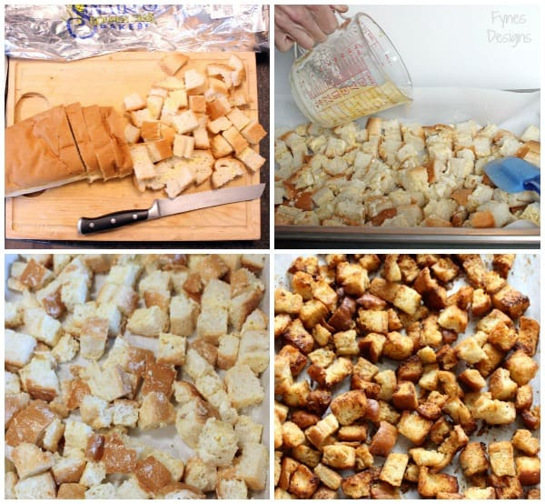 How to make the most delicious easy homemade croutons