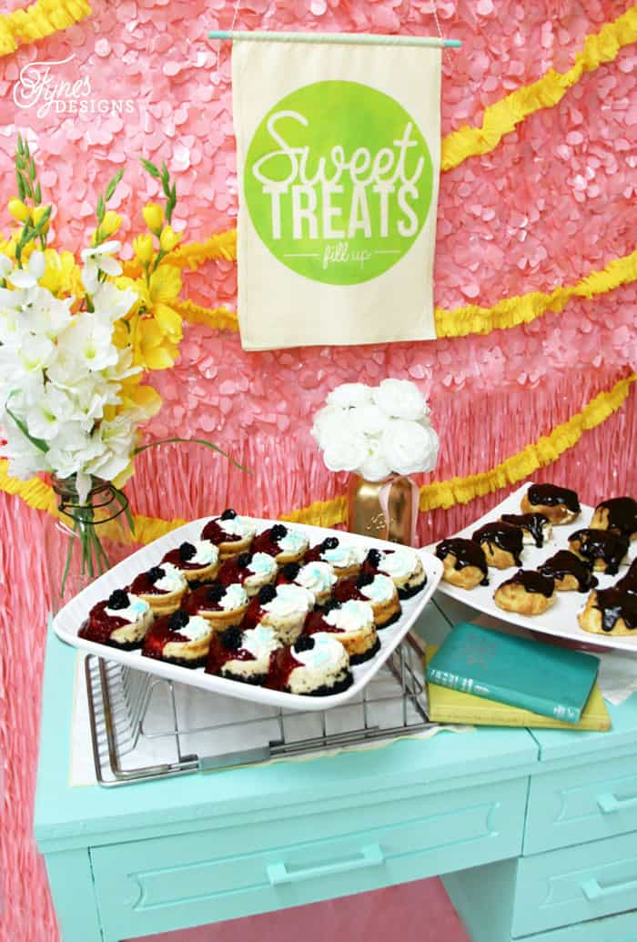 Sweet treats dessert table
