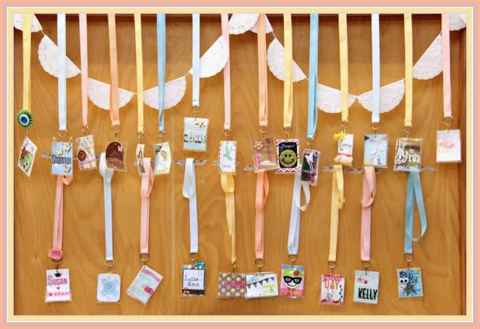 May Arts Ribbon name tags