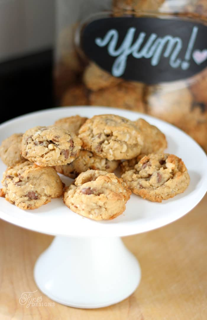 Yummy Chocoloate Chip Crunch cookie