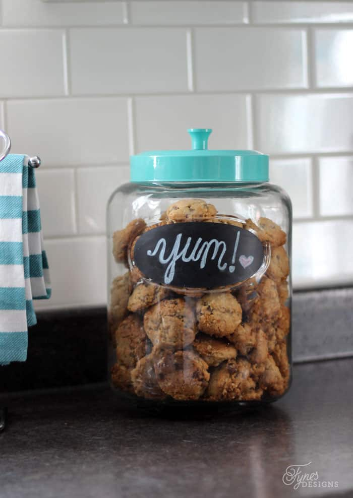 Chalkboard Cookie Jar