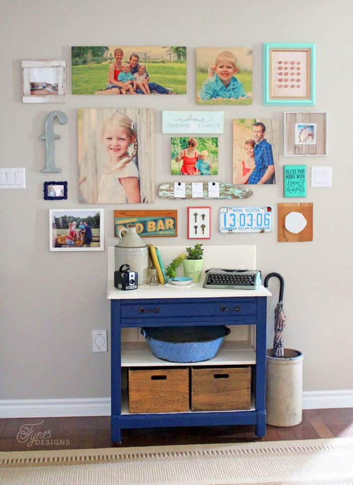 Shutterfly Design a Wall review featured by top US home decor blog, Fynes Design | Easily design a gallery wall with Shtterfly Design-A-Wall template