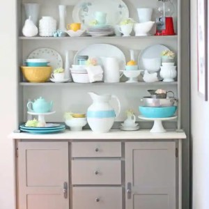 Modern Farmhouse Kitchen hutch
