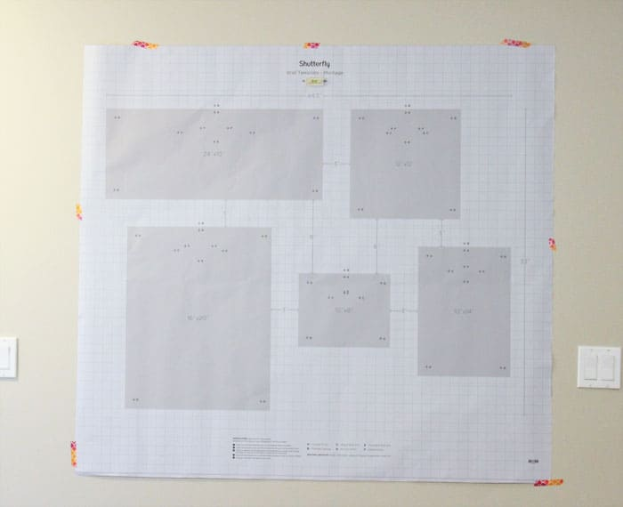 Shutterfly Design a Wall review featured by top US home decor blog, Fynes Design