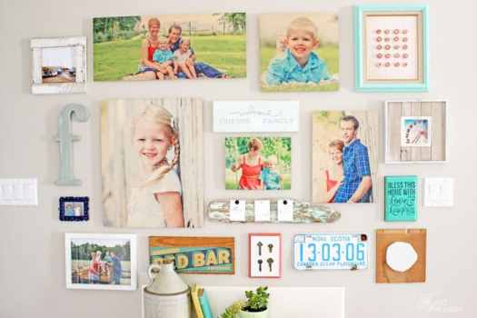 Hanging a gallery wall made easy