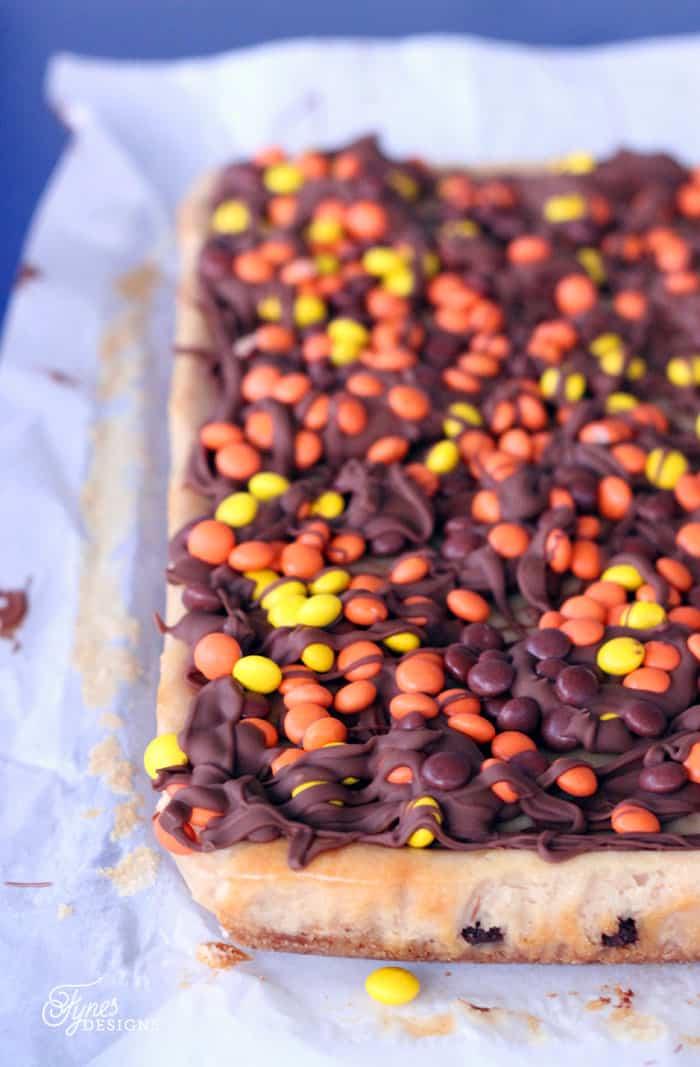 Chocolate Peanut Butter Cheesecake Bars- easy to make cheesecake Recipe