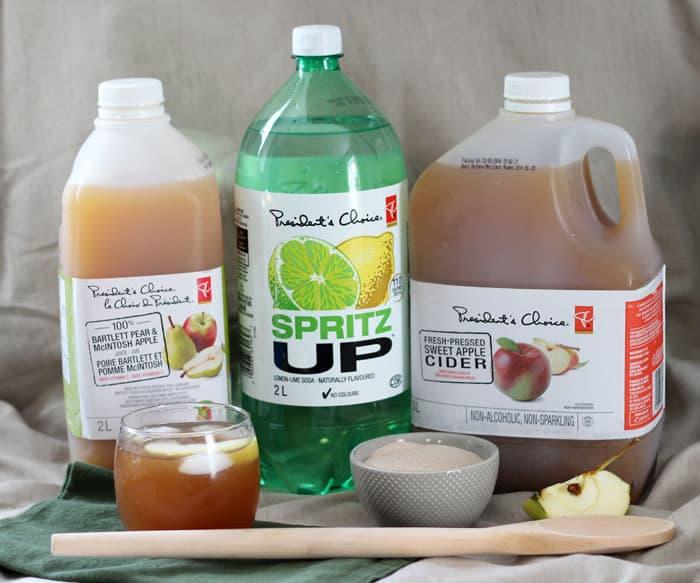 Fall Apple Cider punch Recipe
