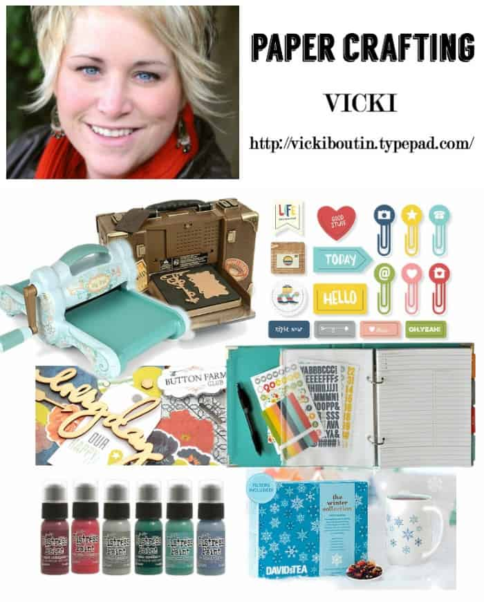 scrapbooking Christmas gift ideas