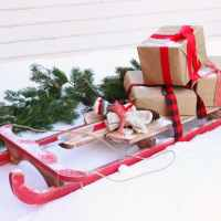 $10 DIY Wooden Sled Tutorial