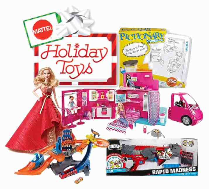Mattel Holiday toys wishlist