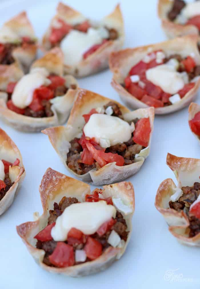 Donair cups, Party appetizer favourite!