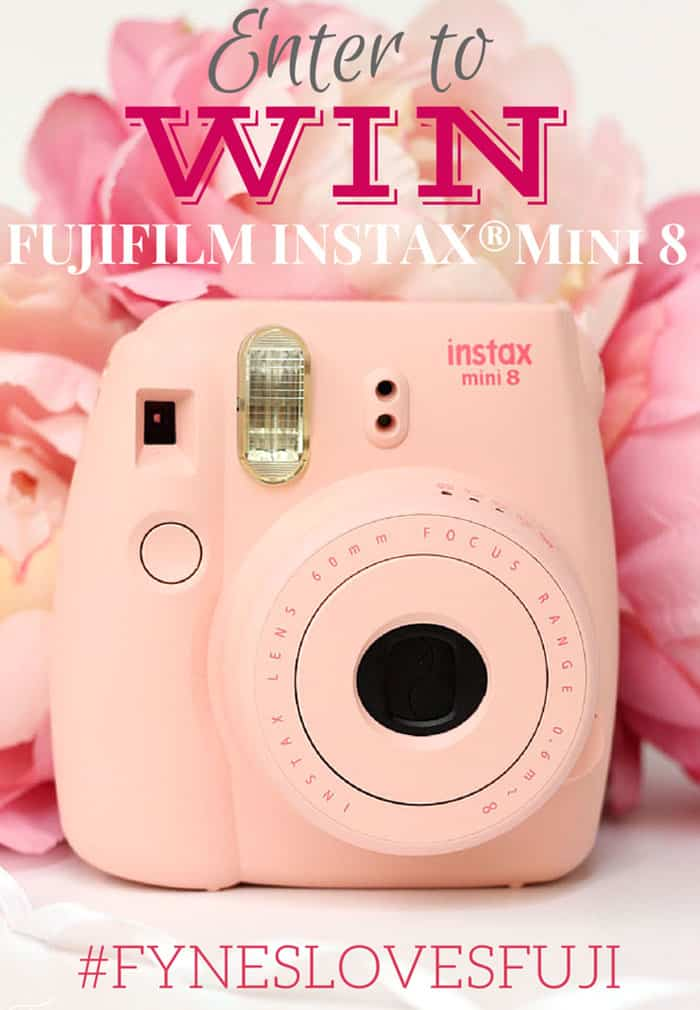 Win one of 4 Instax cameras and photo paper #fyneslovesfuji