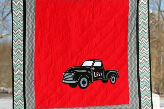 Free Vintage Truck Silhouette Cut File