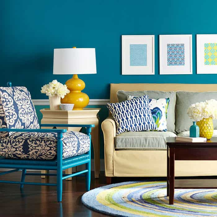 Blue Paisley 2015 Color of the Year